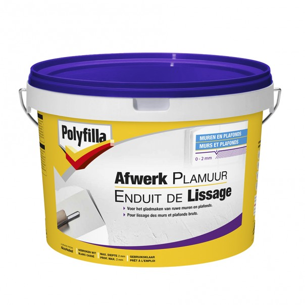 Enduit de lissage polyfilla be fr for Video enduit de lissage