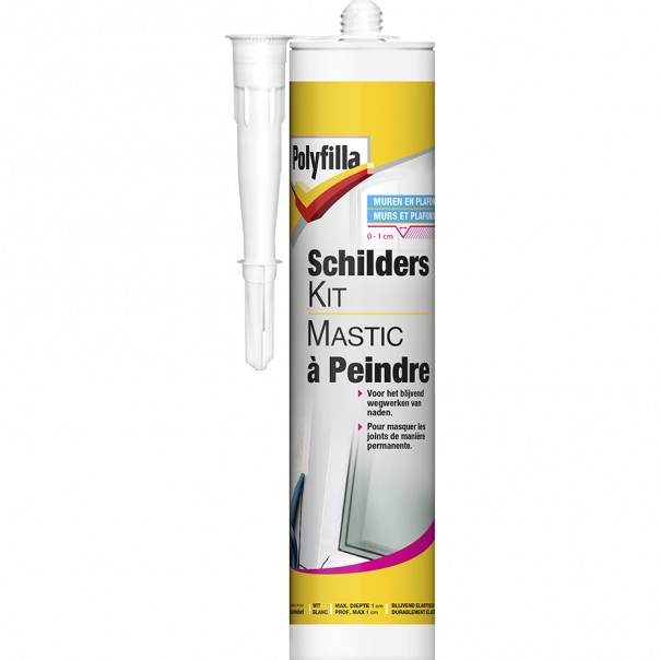 Mastic peindre polyfilla be fr for Mastic fenetre bois